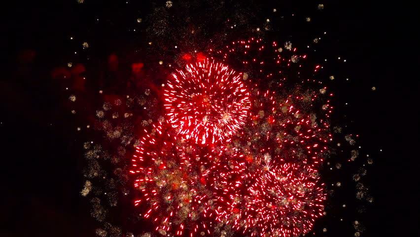 Magnificent sparkling firework display | Shutterstock HD Video #19153006
