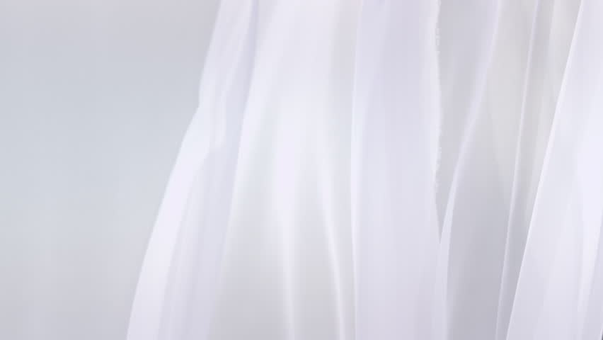 Sheer white curtains blowing in the wind | Shutterstock HD Video #19184545
