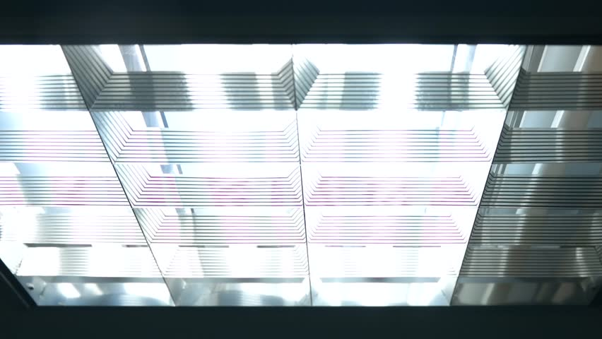 Fluorescent lights turning on and off | Shutterstock HD Video #19189363
