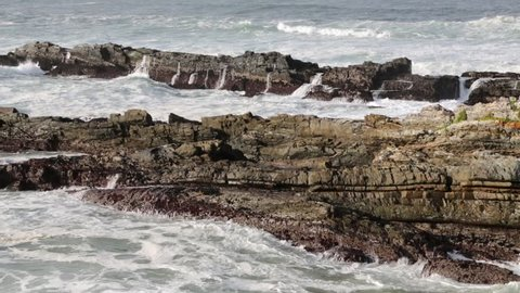 in south africa   sky ocean  tsitsikamma reserve nature and rocks