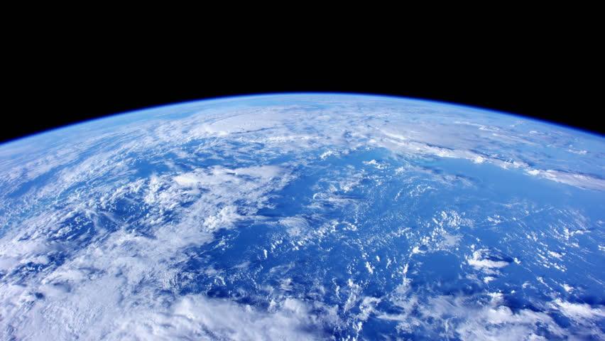 Timelapse View of Satellite Gravitating Around Planet Earth (NASA)