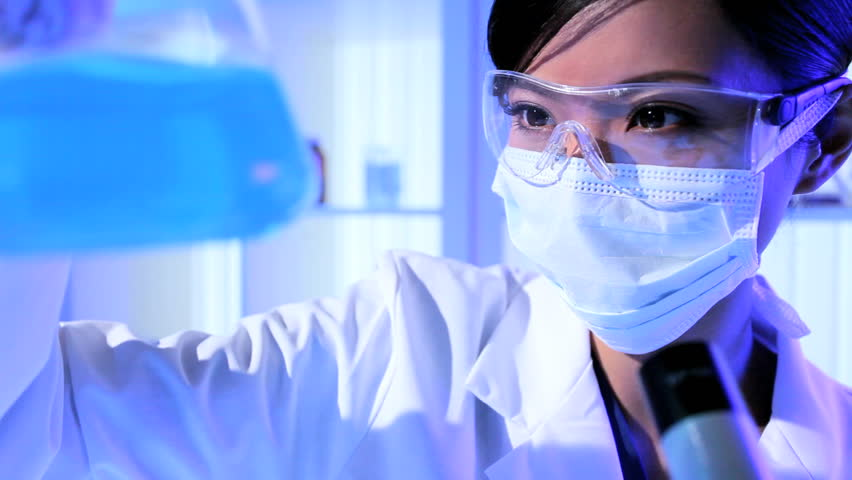 Young Female Science Student Working Stock Footage Video 100 Royalty Free 1928212 Shutterstock