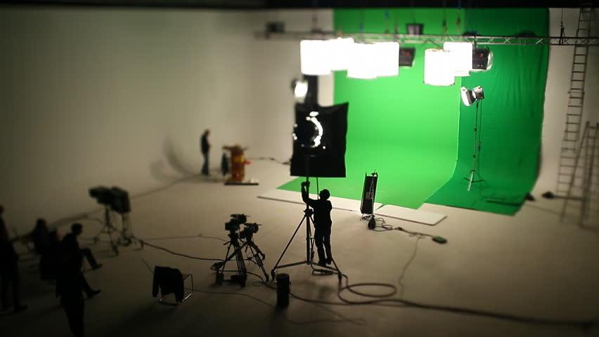 CineGate Studios Behind the scenes Tilt Shift Timelapse