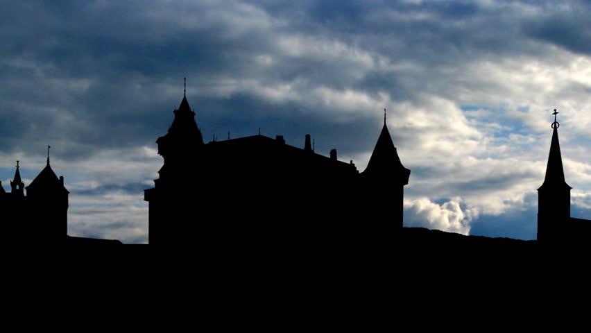 Castle De Haar is located near Haarzuilens, in the province of Utrecht in the Netherlands.    Shutterstock HD Video #1936387