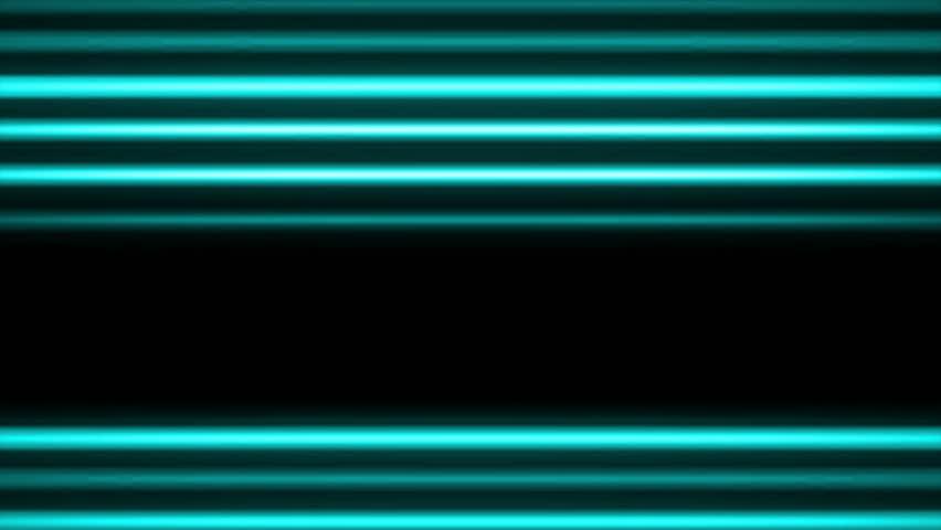 Neon Light Streaks Loop