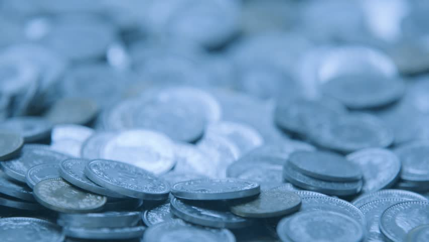 Swiss money coins falling in slow motion Metal coins from switzerland | Shutterstock HD Video #19430644