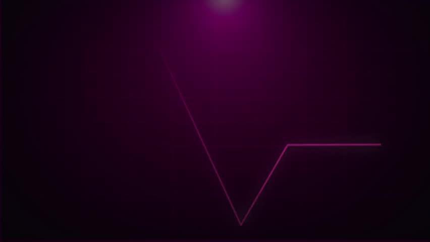 ECG Heartbeat Monitor, heart rate  | Shutterstock HD Video #19546780