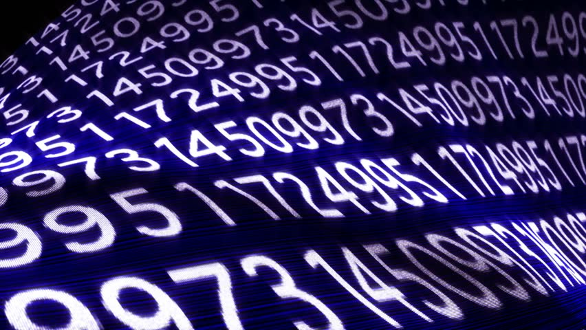 Background Random Numbers Technology Code, Loop, 4k  | Shutterstock HD Video #19590598