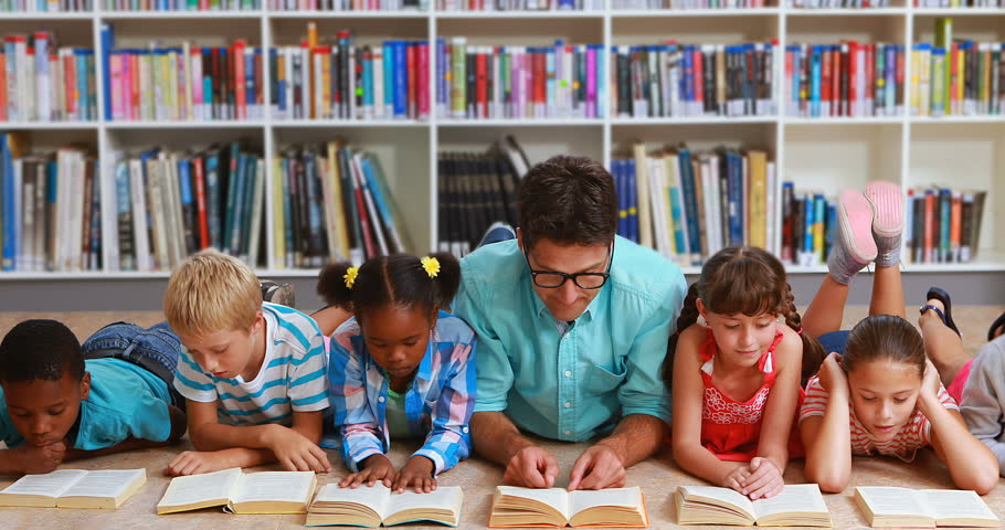 Teacher and Kids Lying On Stock Footage Video (100% Royalty-free) 19598848    Shutterstock