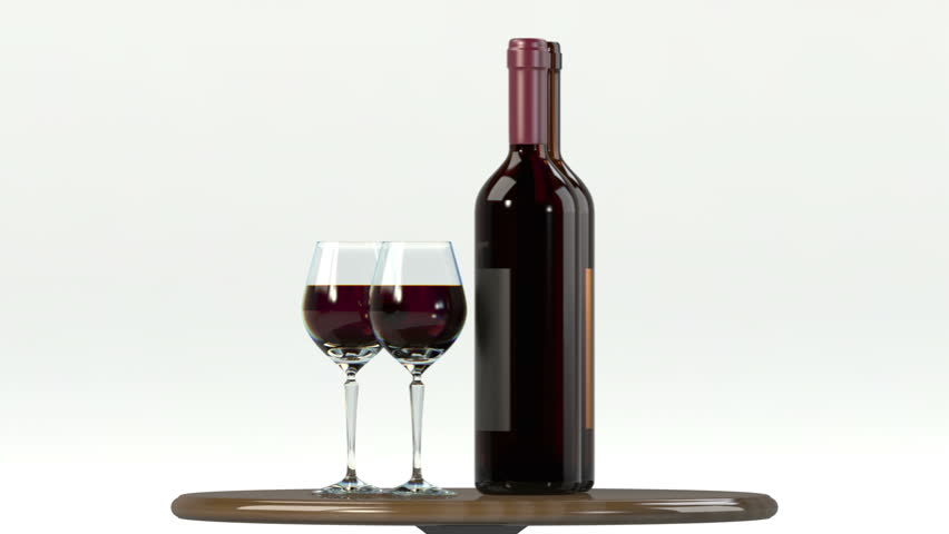 Glass Of Red Wine With Stock Footage Video 100 Royalty Free 1970293 Shutterstock