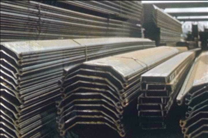 Steel piles are produced and transported to be used in highway constructions in the 1960s. (1960s) | Shutterstock HD Video #19747129