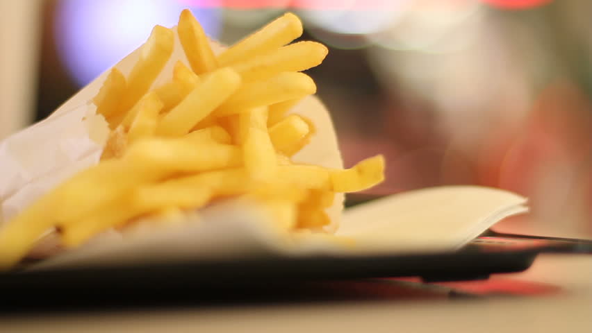 Fast-food restuarant fries #1976851