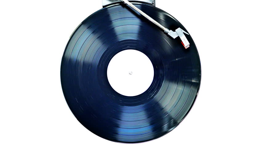 An old record spinning on a turntable. UHD - 4K | Shutterstock HD Video #19773991