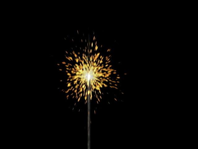 Sparkler fireworks | Shutterstock HD Video #1999835