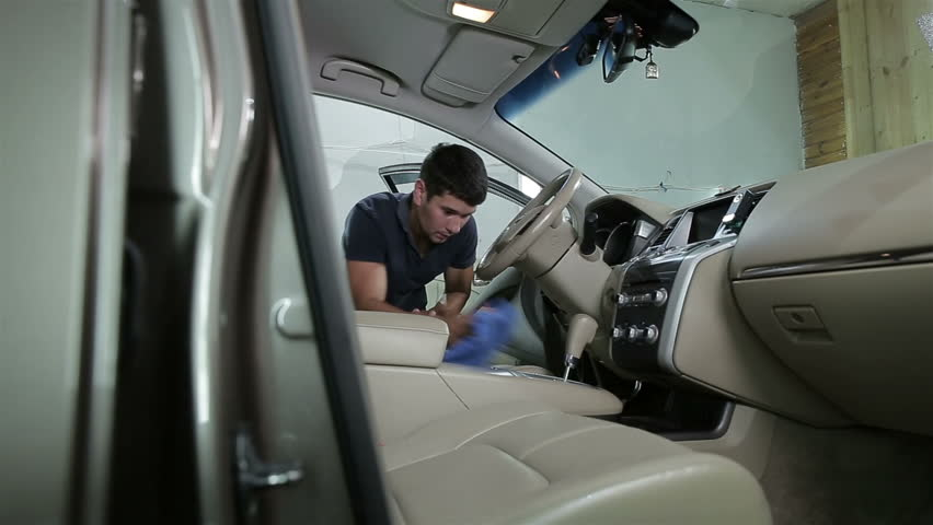 Car detailing series : Cleaning car seat | Shutterstock HD Video #20050993