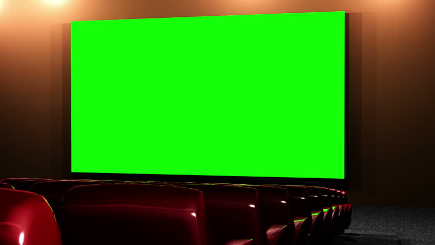 Royalty Free Modern Movie Theater With Green Screen 33262735 Stock Video Imageric Com