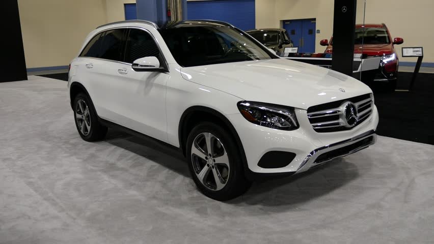 MIAMI, USA - SEPTEMBER 10, 2016: Mercedes GLC SUV on display during the Miami International Auto Show at the Miami Beach Convention Center. #20083507