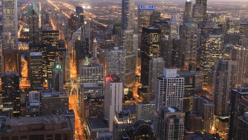 4K UltraHD Aerial timelapse of the Chicago city center  | Shutterstock HD Video #20166124