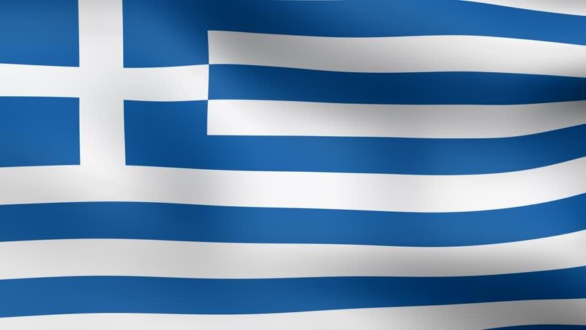 Греческий флаг в картинках