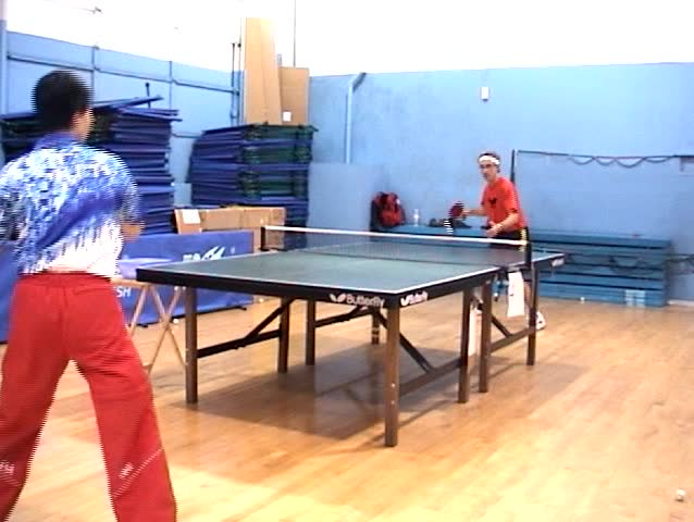 Header of table tennis