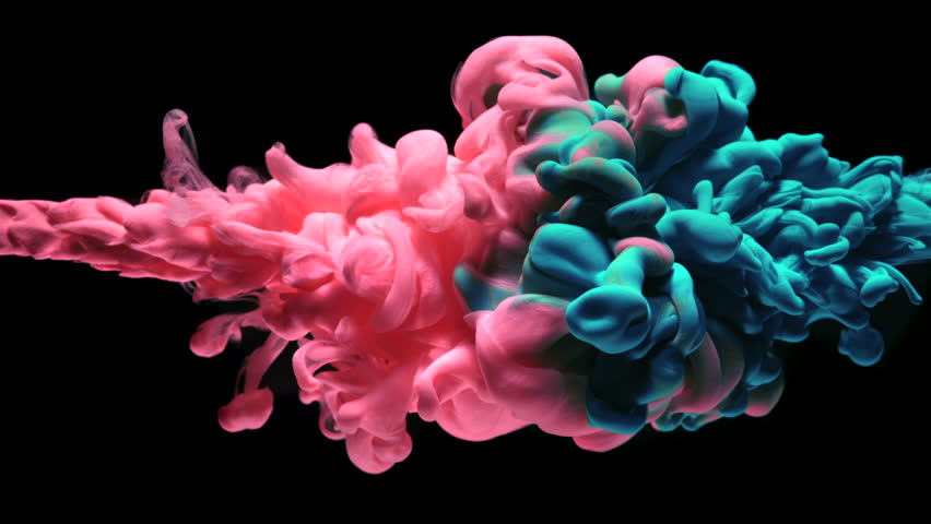 Ink in water. Slow Motion. #20243866