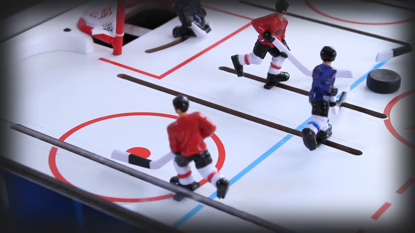 Vintage Ice Hockey Toy Game Stock Footage Video 100 Royalty Free 2028307 Shutterstock
