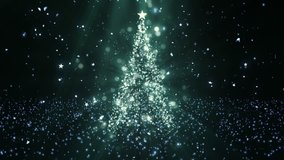 Christmas Tree Stars 1 Background A Full HD, 1920x1080 Pixels, Seamlessly Looped Animation Works with all Editing ProgramsSimply Loop it for any duration Suits for Christmas, New Year,  Holidays