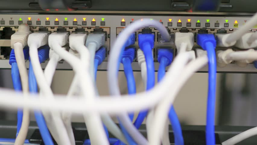 Maintenance work in the server room | Shutterstock HD Video #20471458