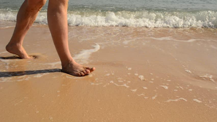 Disappearing footprints | Shutterstock HD Video #2060939