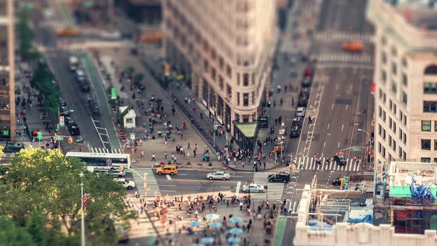 The Flatiron Building | New York City | June 1st 2016. 4K Timelapse of the iconic Flatiron Building in New York City.