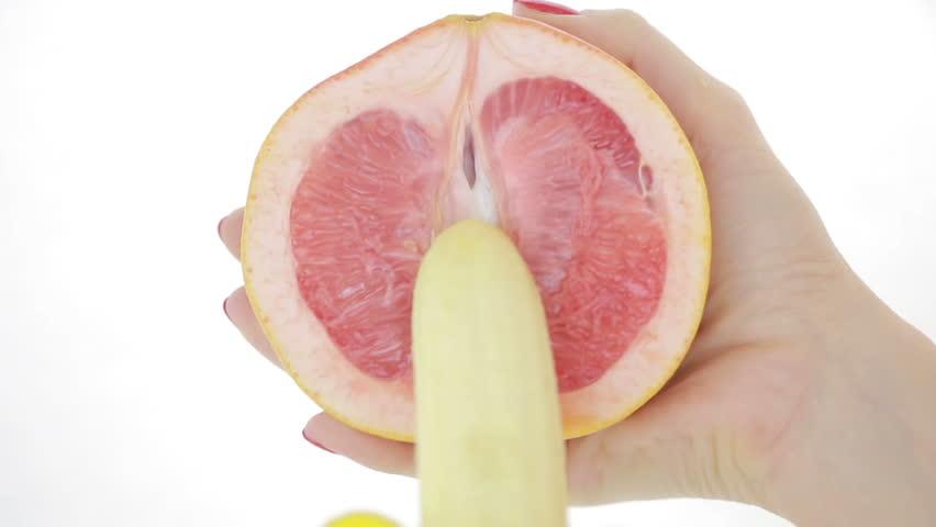 Oranges vagina video
