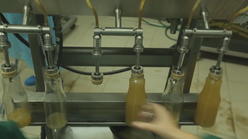 The production of Apple juice. Juicer | Shutterstock HD Video #20757139