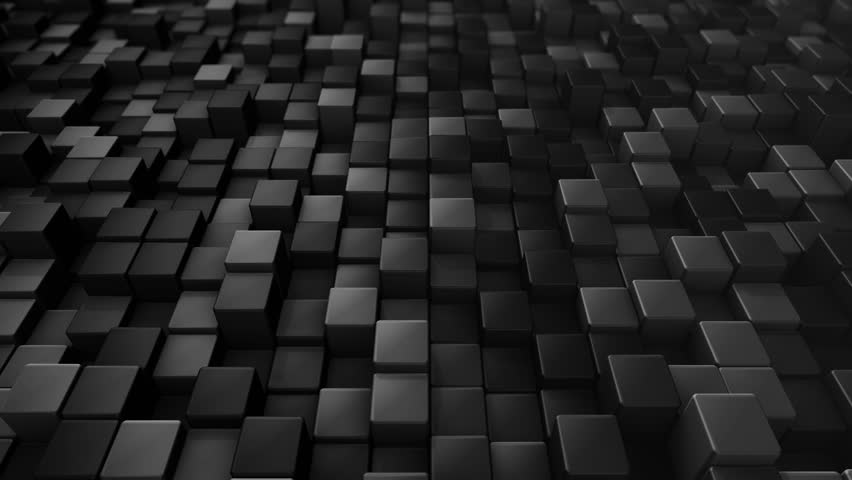 Abstract background with animation of wave mosaic of squares. Technological backdrop. Animation of seamless loop. | Shutterstock HD Video #20881459