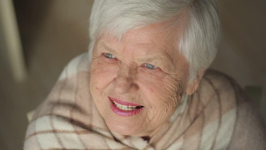 Laughing elderly woman #20905459