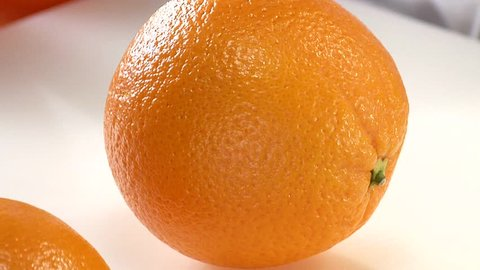 Halving an orange