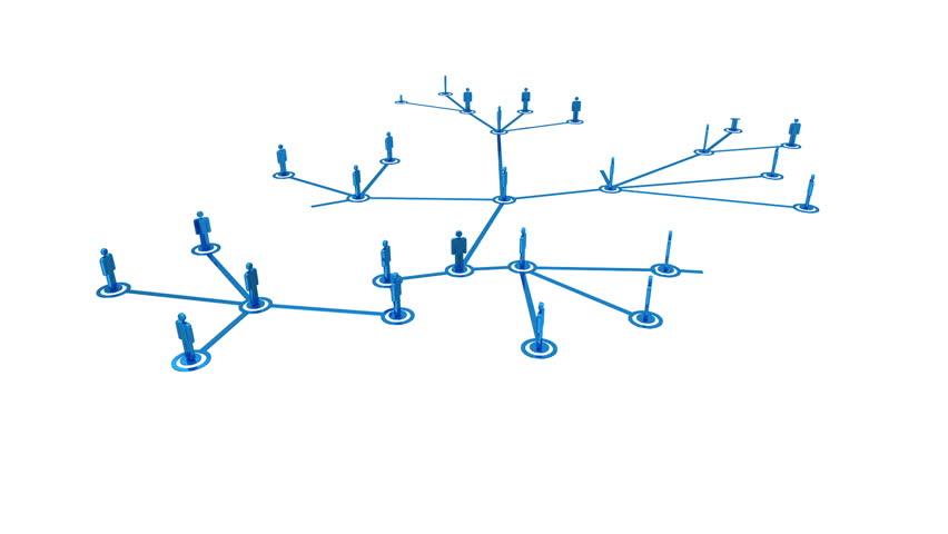 Network growing loop | Shutterstock HD Video #2100374