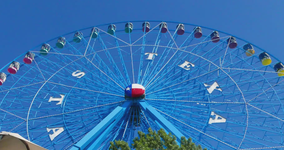 STATE FAIR OF TEXAS, OCT 2016: The Texas State Fair in Dallas provides a large variety of rides for kids and adults, music, entertainment, food and drinks each year in October. Oct 11, 2016