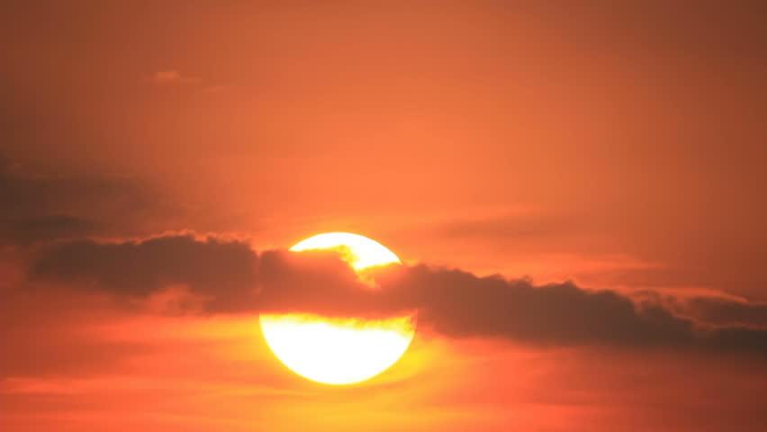 Sunrise in cloudy sky | Shutterstock HD Video #21024259