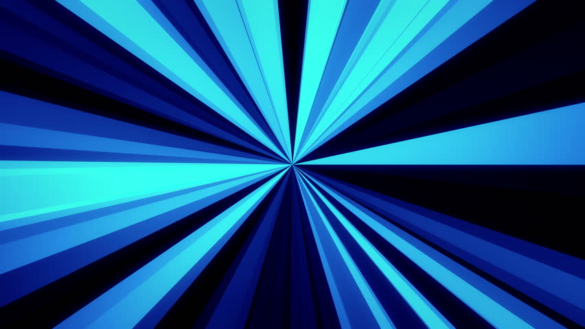 Abstract glowing light rays. Blue tint. Ultra HD - 4K Resolution. Seamless loop. More color options available in my portfolio. | Shutterstock HD Video #21068500
