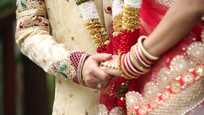 Indian Wedding Bride And Groom Stock Footage Video 100 Royalty Free 21143272 Shutterstock