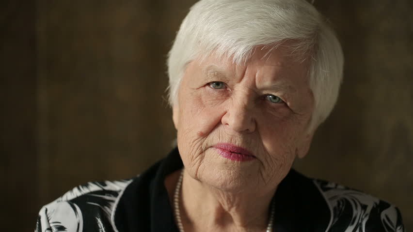 Portrait Of Senior Woman | Shutterstock HD Video #21170530