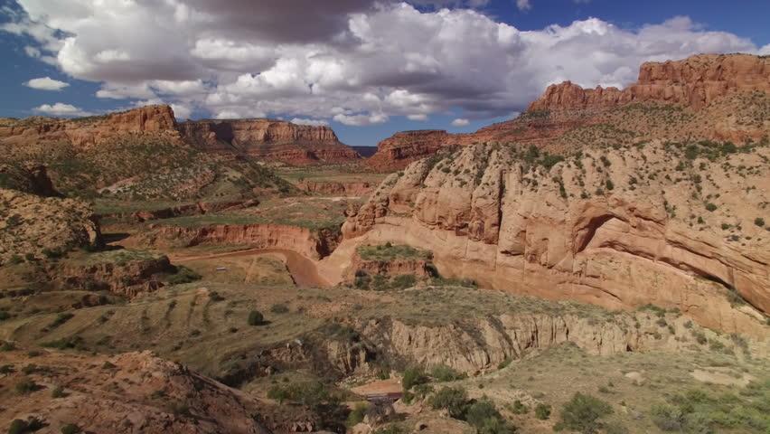 Arizona Rocky Canyon Aerial 03 | Shutterstock HD Video #21188185