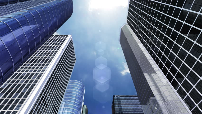 Buildings and Skyscrapers CG background #21279238