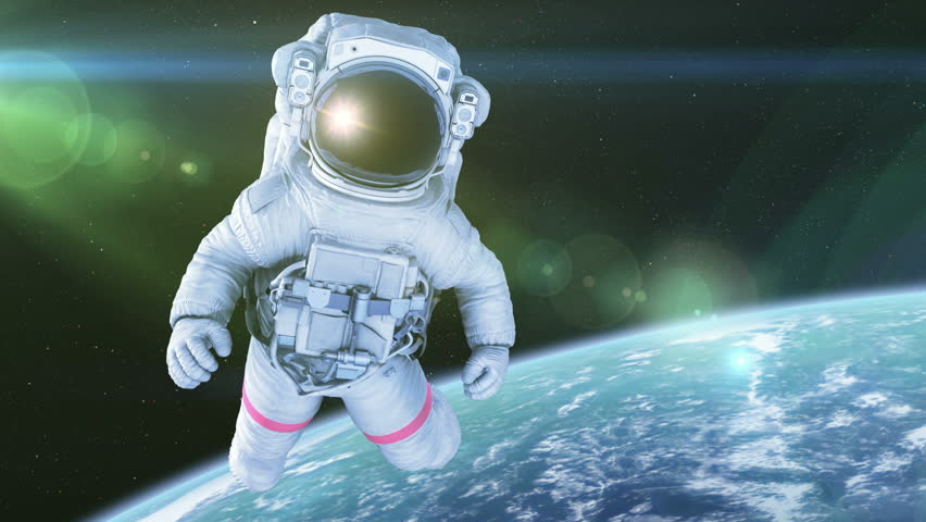вставить фото в костюм космонавта города