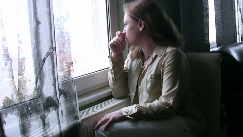 Looking through the window | Shutterstock HD Video #2138525