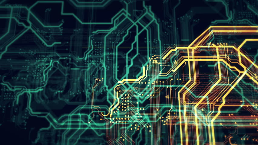 Orange and green technology background circuit board and html code/Orange and green technology background   Shutterstock HD Video #21428728