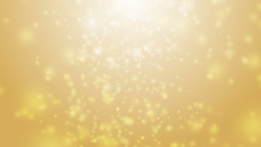 Soft beautiful gold backgrounds.Moving golden gloss particles on background loop. Winter theme Christmas background with snowflakes. | Shutterstock HD Video #21455401