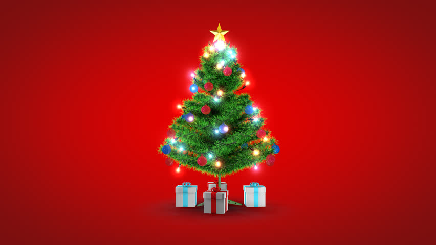similar to isolated christmas tree with gift 3d holiday xmas animation winter background popular royalty free videos imageric com similar to isolated christmas tree with