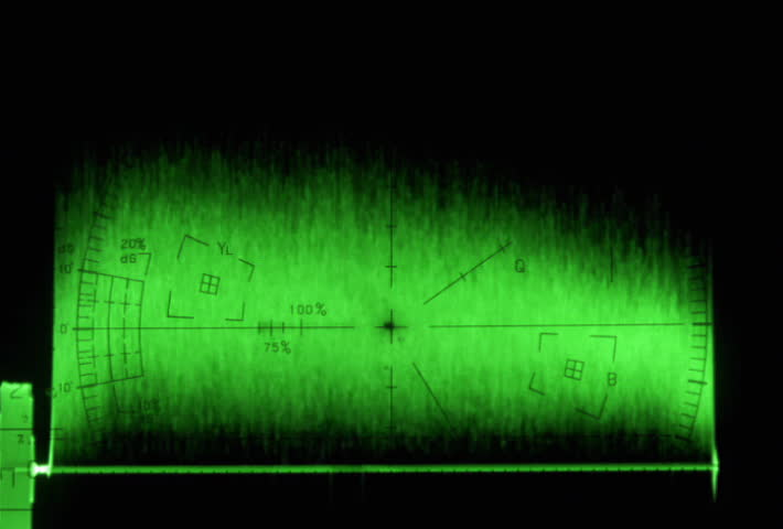 Waveform monitor with monday text