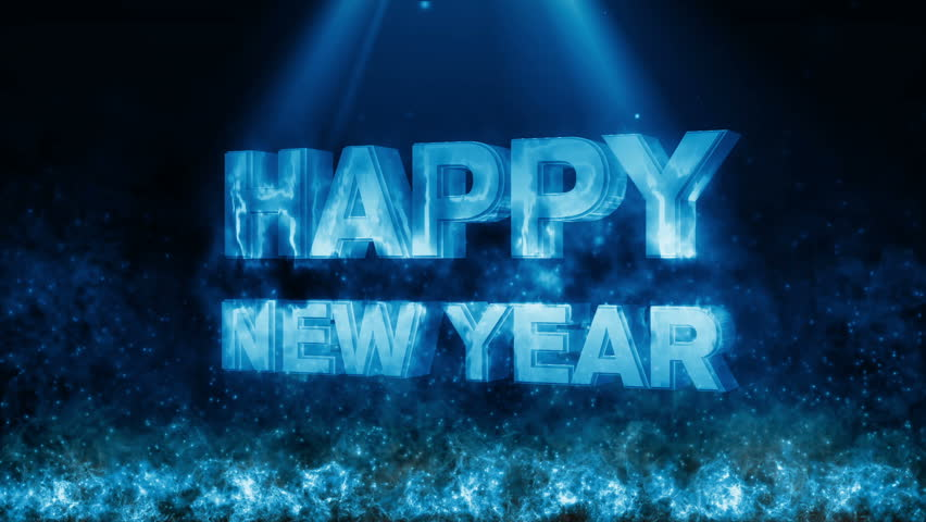 Happy new year with fire flame generic  | Shutterstock HD Video #21563590